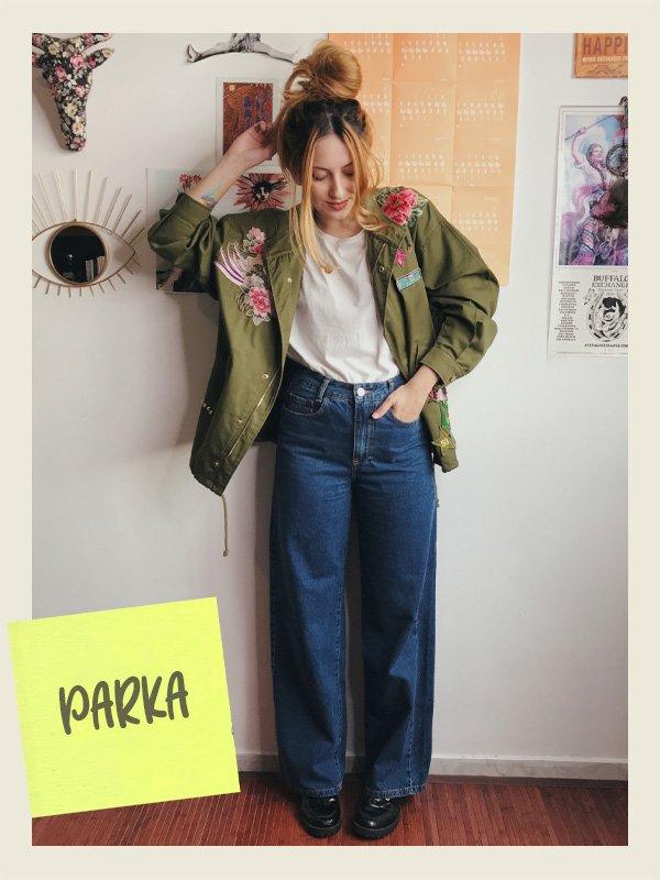 Ali Santos - casacos que nunca saem de moda - parka - inverno - street style - https://stealthelook.com.br