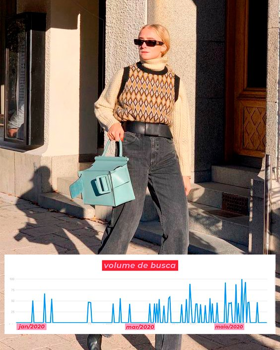 It girls - Colete de tricot - Tendências na pandemia - Inverno - Street Style - https://stealthelook.com.br
