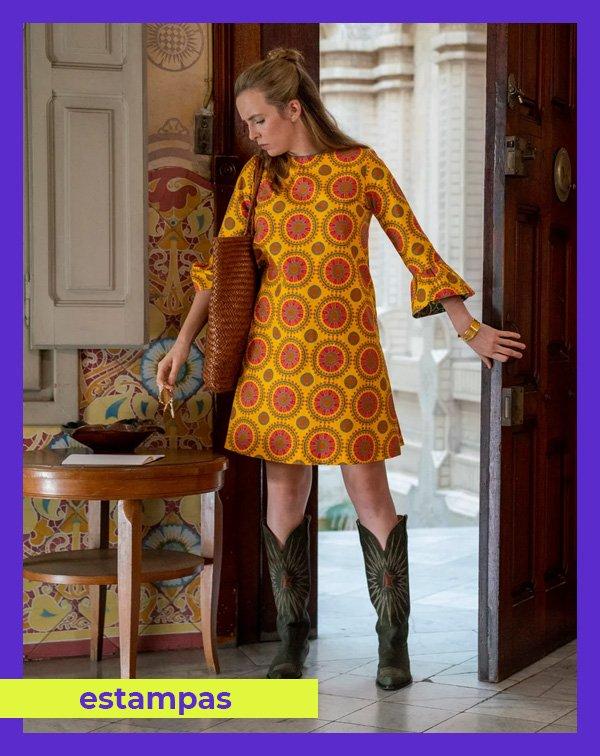 Jodie Comer - vestido-estampado - estampas - inverno - Killing Eve - https://stealthelook.com.br