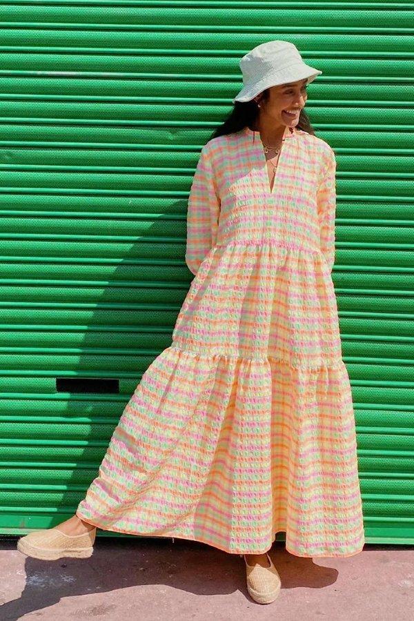 Zeena Shah - Vestidos breezy dress  - Breezy dress - verão  - rua  - https://stealthelook.com.br