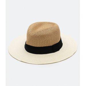 Chapéu de Palha com Gorgurão