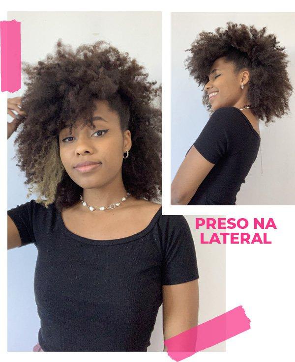 Claudiana Ribeiro - penteados para cabelos crespos - penteados para cabelo crespo - inverno - street style - https://stealthelook.com.br