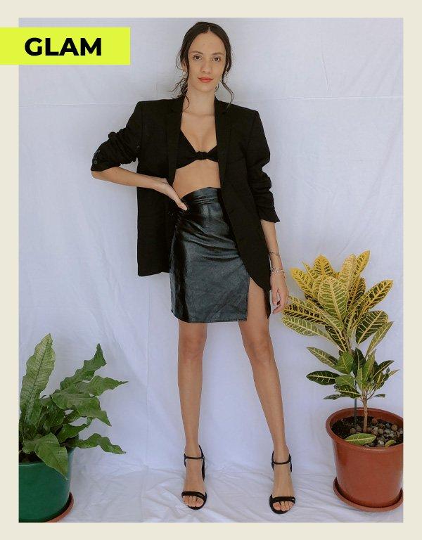 Jéssica Menasce - looks com um blazer preto - blazer - inverno - street style - https://stealthelook.com.br