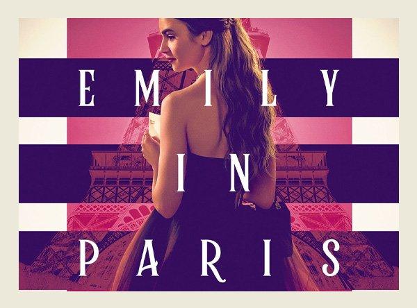 Emily em Paris - lançamentos da netflix - lançamentos de outubro - inverno - em casa - https://stealthelook.com.br