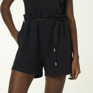 Shorts Feminino Cintura Alta Com Amarração