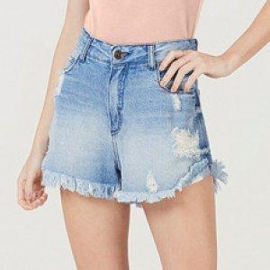 Shorts Feminino Jeans Boyfriend