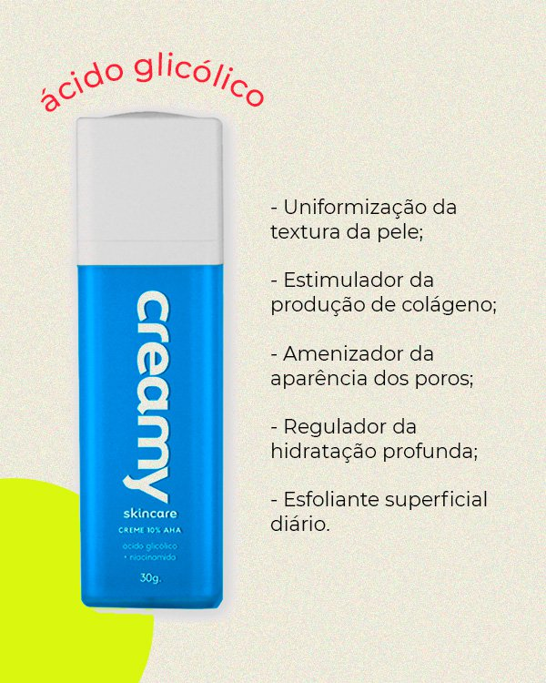 creamy - skincare - acidos - verão - still - https://stealthelook.com.br