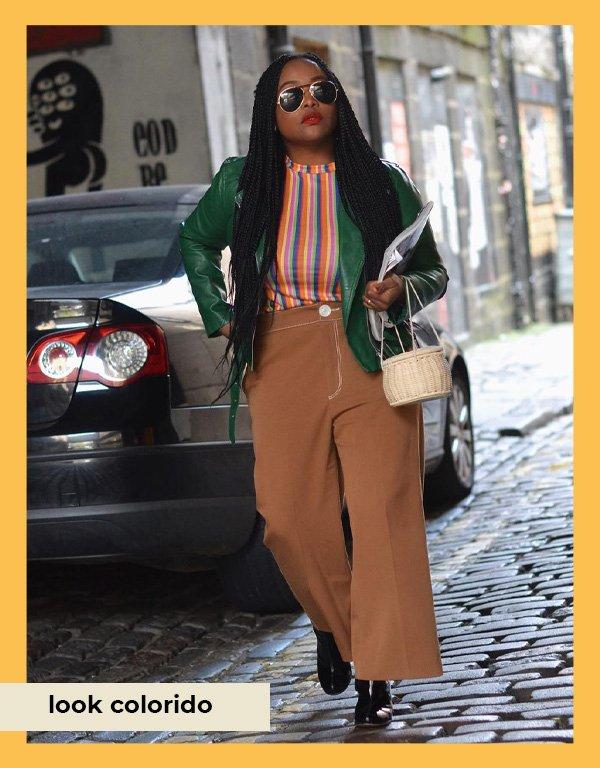 Ada Oguntodu - maneiras de usar calça pantalona - pantalonas - inverno - street style - https://stealthelook.com.br