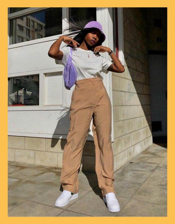 Aude-Julie Alingué - bucket hat - acessórios de verão - verão - street style - https://stealthelook.com.br