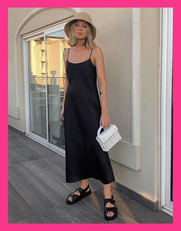 Brittany Bathgate - sandália tendência - chanel dad sandals - verão - street style - https://stealthelook.com.br