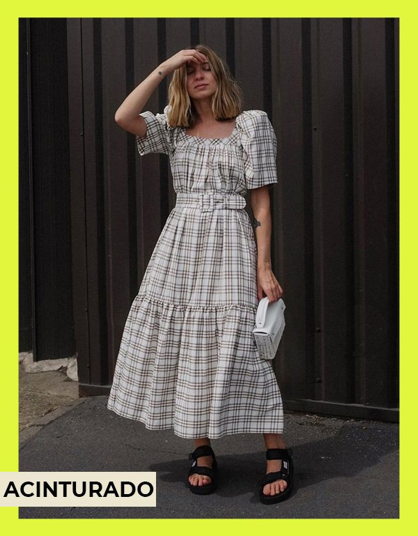Brittany Bathgate - vestidos de mangas bufantes - modelos de vestidos - verão - street style - https://stealthelook.com.br