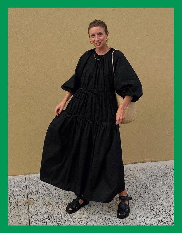 reprodução pinterest - modelo de vestido - vestidos - inverno - street style - https://stealthelook.com.br