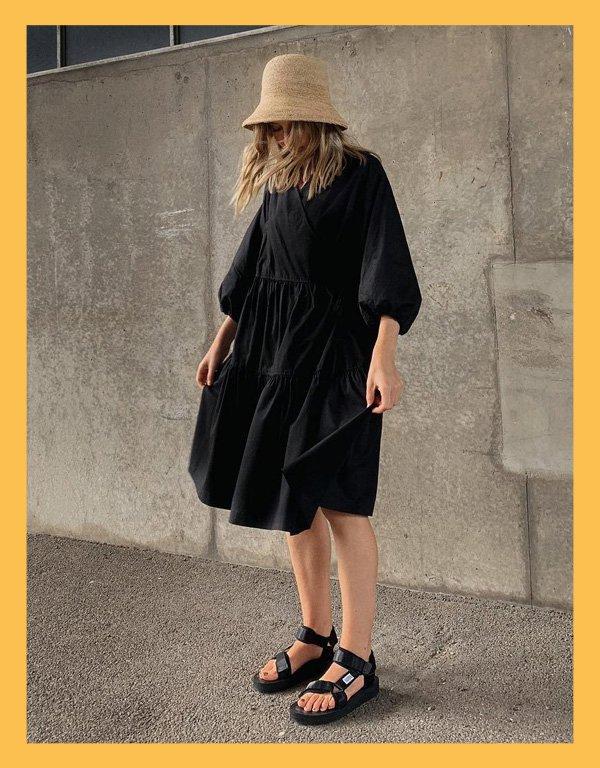 Brittany Bathgate - bucket hat - acessórios de verão - inverno - street style - https://stealthelook.com.br