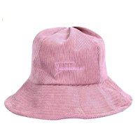 Chapéus femininos Alloet Fashion de cor sólida com estampa de letras e capuz casual de veludo
