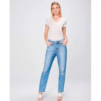 Calça Mom Jeans Feminina