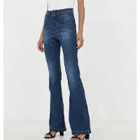 Calça Jeans Flare Liso