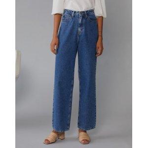 Calça Jeans Baggy Vintage