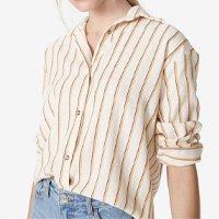 Camisa Manga Longa Algodão Botões