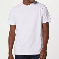 Camiseta Básica Masculina Super Cotton - Branco