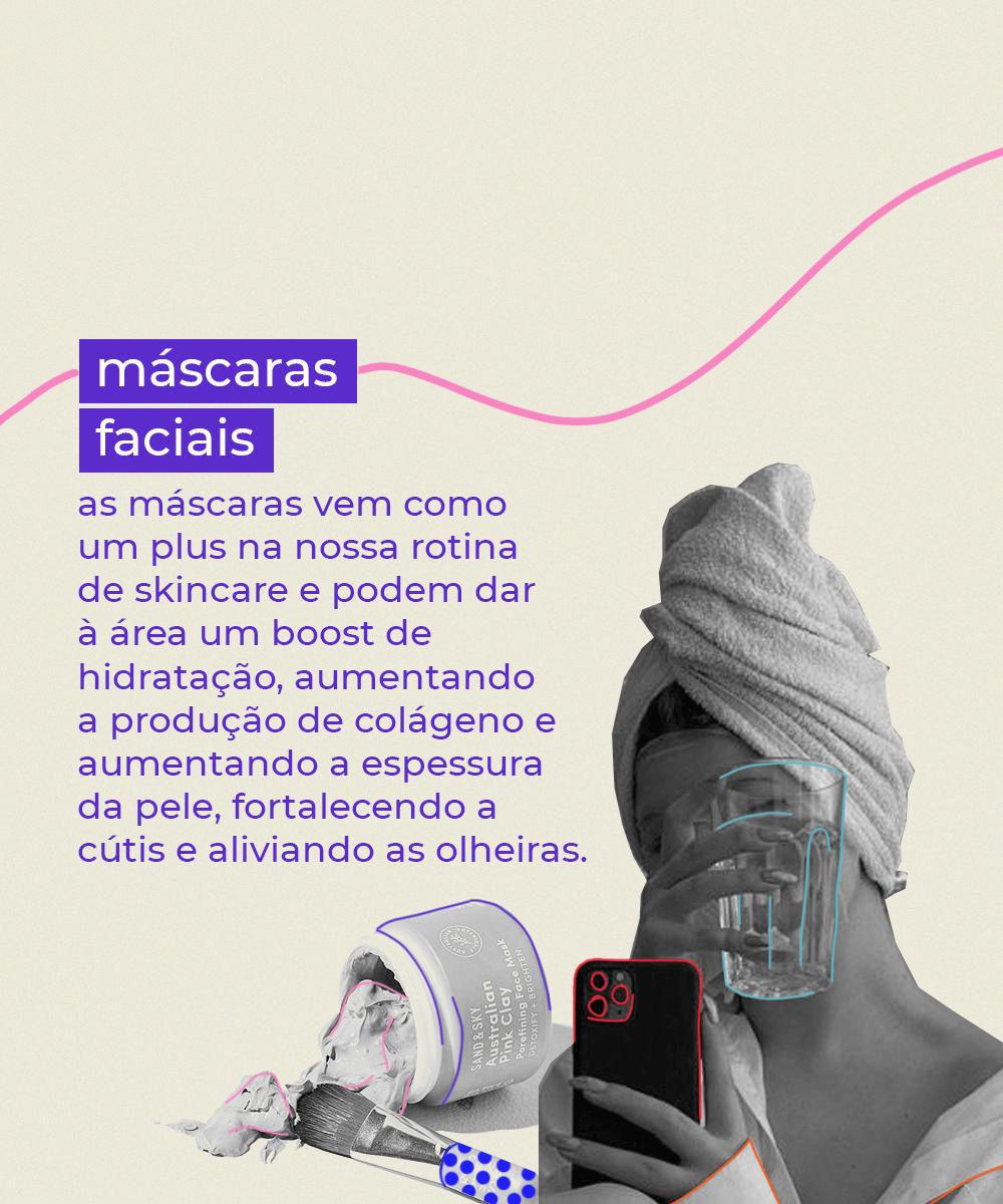 It girls - Máscaras faciais - Olheiras - Inverno - Em casa - https://stealthelook.com.br