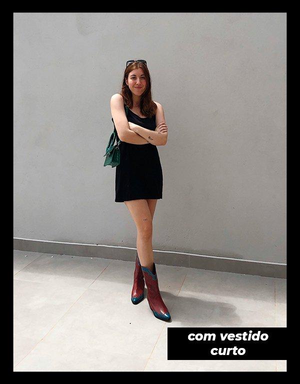 Giulia Coronato - Vestido - Bota - Inverno - Em casa - https://stealthelook.com.br