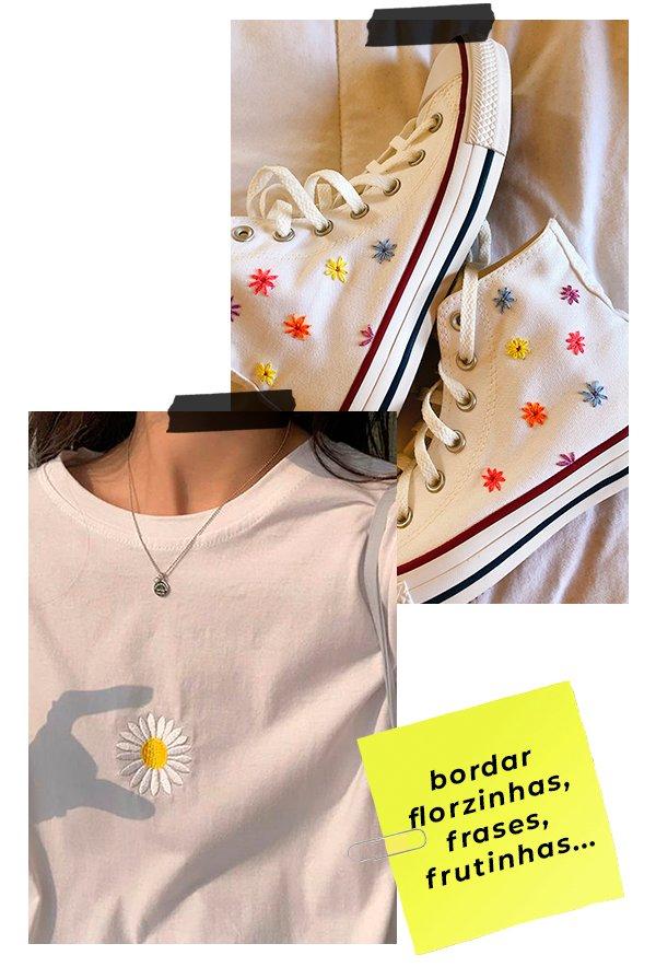 It girls - Bordar - Customização - Inverno - Em casa - https://stealthelook.com.br