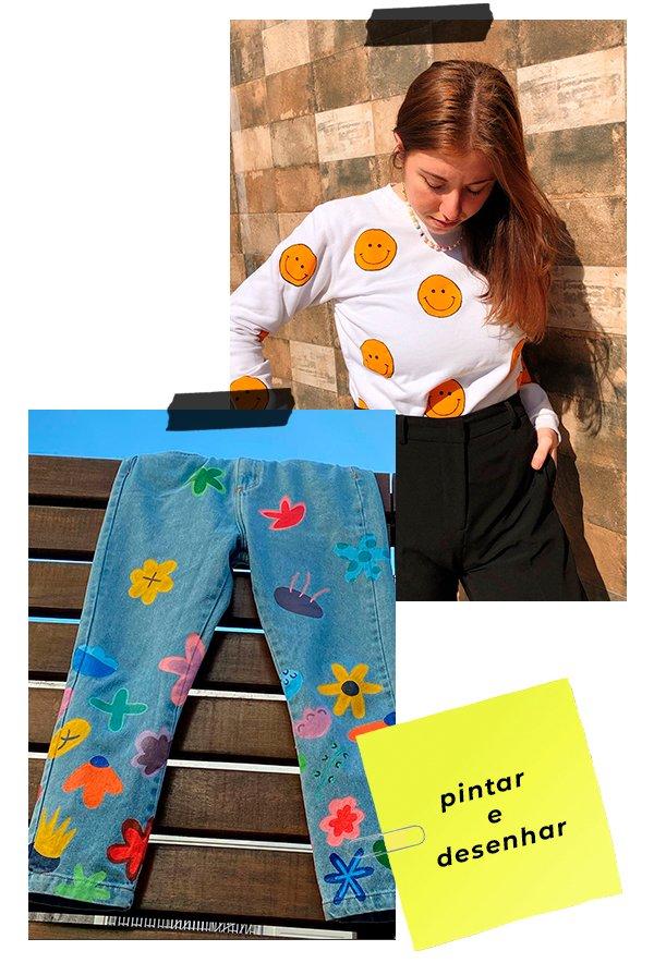 It girls - Pintar - Customizar - Inverno - Street Style - https://stealthelook.com.br