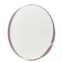 Espelho Decorativo Redondo Comfort Zone Rosa 50cm