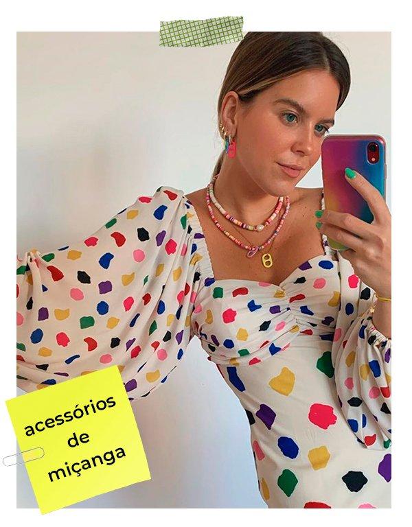 It girls - Miçangas - Primavera 2020 - Inverno - Street Style - https://stealthelook.com.br