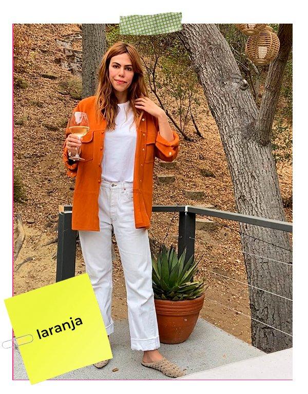 It girls - Laranja - Primavera 2020 - Inverno - Street Style - https://stealthelook.com.br