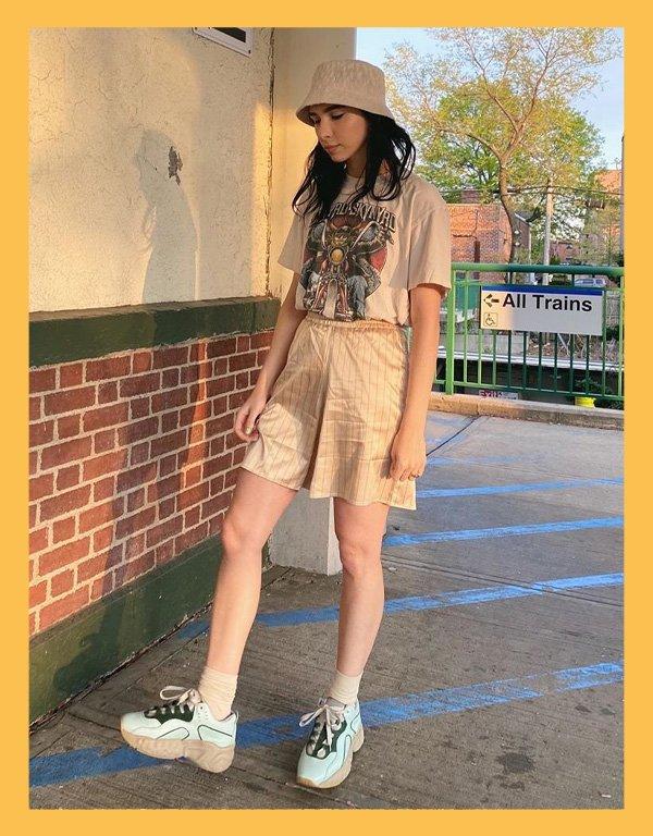 Frida Becker - bucket hat - acessórios de verão - verão - street style - https://stealthelook.com.br