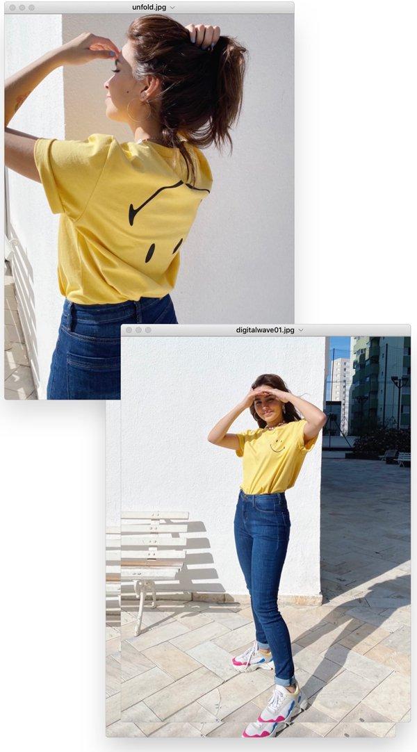 Bruna Lys - t-shirt-e-jeans - smiley - verão - em-casa - https://stealthelook.com.br