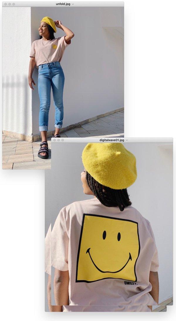 Claudiana Ribeiro - t-shirt-e-jeans - smiley - verão - em-casa - https://stealthelook.com.br
