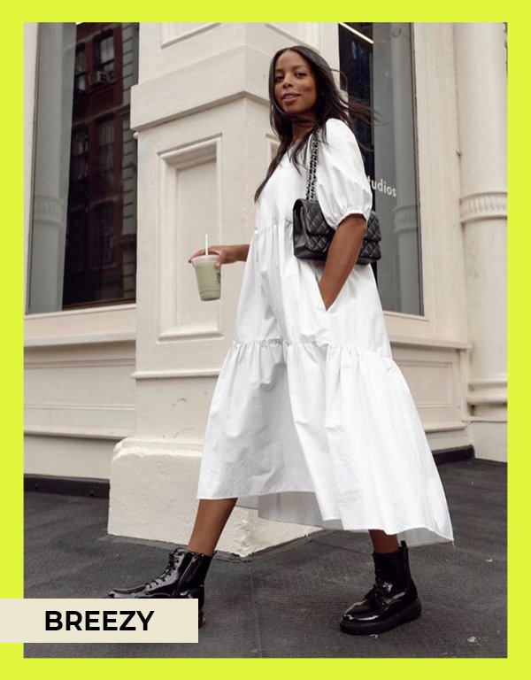 Janelle Marie Lloyd - vestidos de mangas bufantes - modelos de vestidos - verão - street style - https://stealthelook.com.br