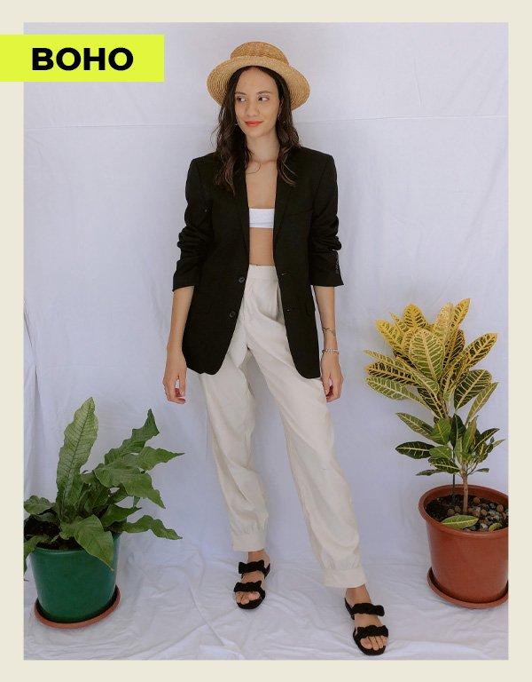 Jéssica Menasce - looks com blazer preto - blazer - inverno - street style - https://stealthelook.com.br