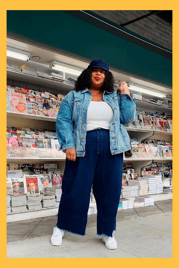 Kellie Brown - Calça jeans - Calça Jeans  - verão - street style  - https://stealthelook.com.br
