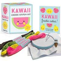 Kawaii Cross-Stitch Kit: Super Cute! (Inglês) Capa comum – 2 abril 2019