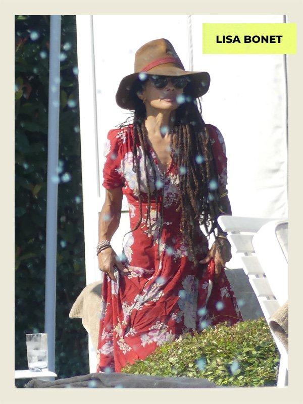 Lisa Bonet - celebridades estilosas - 40 anos mais - verão - street style - https://stealthelook.com.br