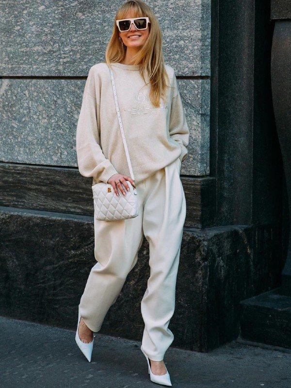 Jeanette Madsen - moletom - moletom - inverno - street-style - https://stealthelook.com.br
