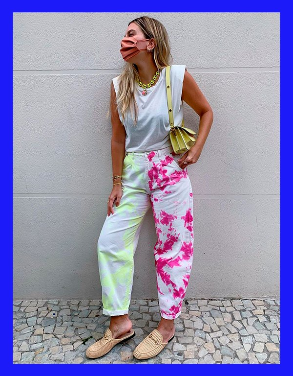 It girls - Calça - Tie dye - Inverno - Street Style - https://stealthelook.com.br
