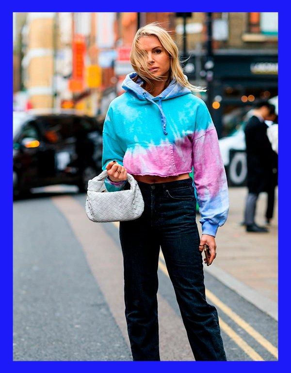 It girls - Moletom - Tie dye - Inverno - Street Style - https://stealthelook.com.br