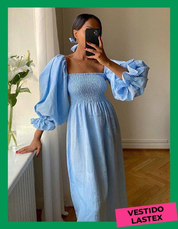 Lydia - modelos de vestidos essenciais - looks de verão - inverno - street style - https://stealthelook.com.br