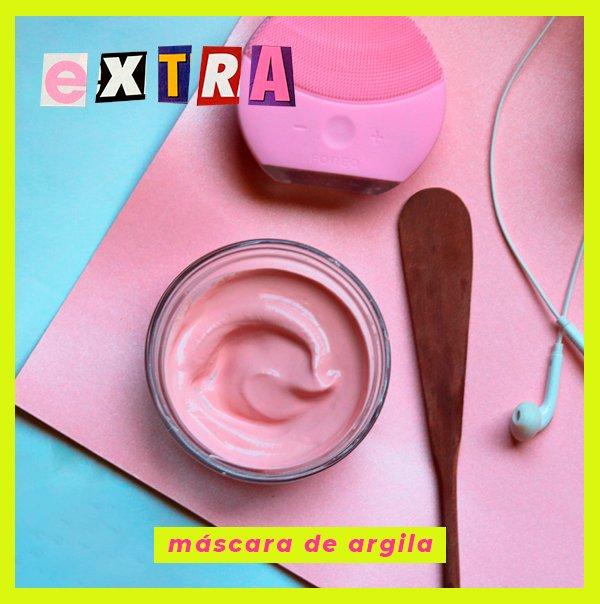 It girls - Máscara de argila - Rotina de skincare - Inverno - Em casa - https://stealthelook.com.br