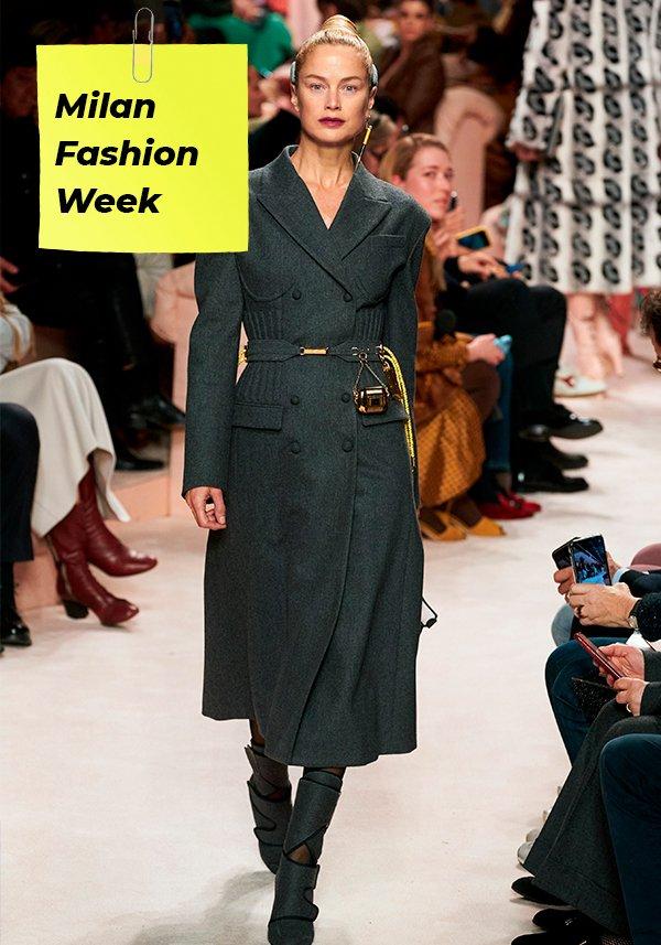 It girls - Fendi - Fashion Week - Inverno - Street Style - https://stealthelook.com.br