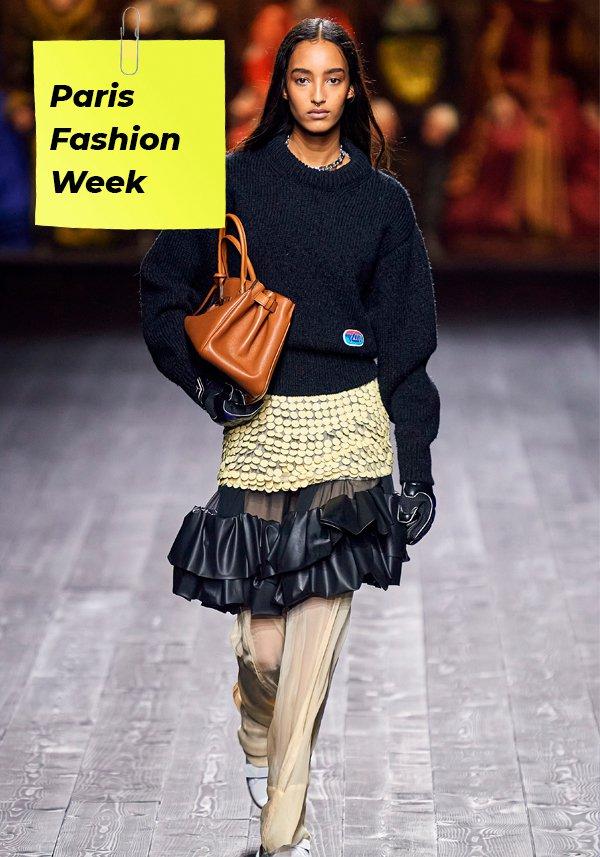 It girls - Louis Vuitton - Fashion Week - Inverno - Street Style - https://stealthelook.com.br
