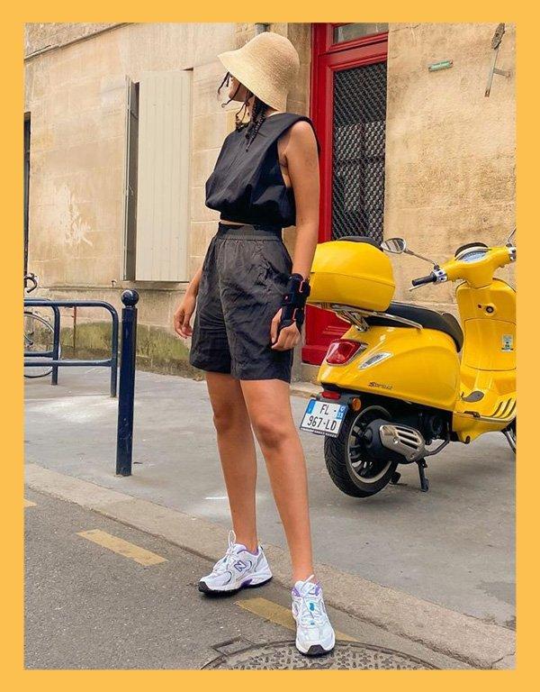 Syana Laniyan - bucket hat - acessórios de verão - verão - street style - https://stealthelook.com.br