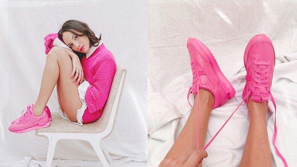 Jéssica Menasce - sueter-e-camisa - tenis-pink - inverno - em-casa - https://stealthelook.com.br