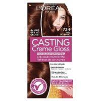 Coloração Casting Creme Gloss, L\'Oréal Paris, 734 Mel Dourado