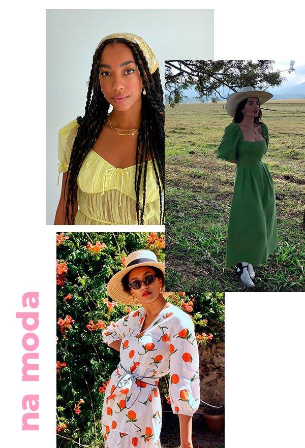 It girls - Cottagecore - Cottagecore - Primavera - Street Style - https://stealthelook.com.br
