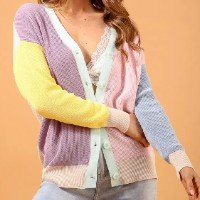 CARDIGAN TRICOT COLORS P